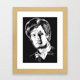 King Of Okey Framed Art Print
