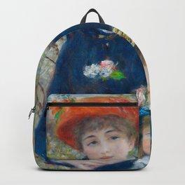 """Pierre Auguste Renoir """"Two Sisters"""" Backpack"""