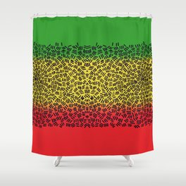 Jah is good Shower Curtain