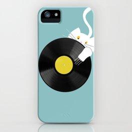 Dj cat iPhone Case