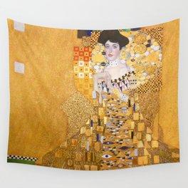 Gustav Klimt - Portrait of Adelle Bloch Bauer Wall Tapestry