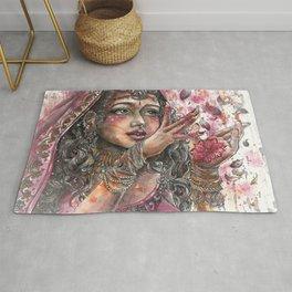 Goddess Lakshmi Rug