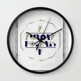 AURORA POLARIS#01 Wall Clock