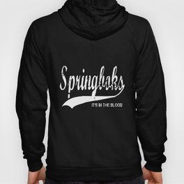 South Africa Springbok Retro Style Rugby T-Shirts Hoody