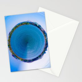 Montreal City litlle planet Stationery Cards