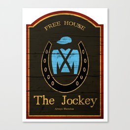 The Jockey - Shameless Canvas Print