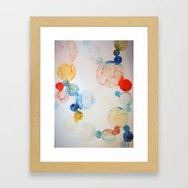 Delicate Worlds 2 Framed Art Print