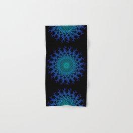 Ombre Tribal Hammerhead Mandala Hand & Bath Towel