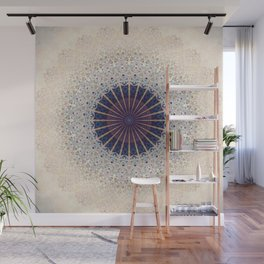 Mandala Drawing design Wall Mural