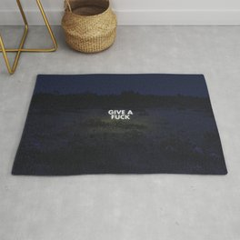 Or don't. Rug