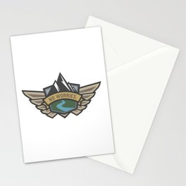 No Worries. Stationery Cards