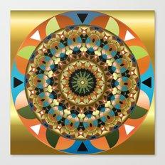 Navajo Mandala Canvas Print