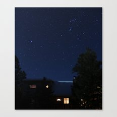 cabin. Canvas Print