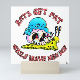 Rats! Mini Art Print