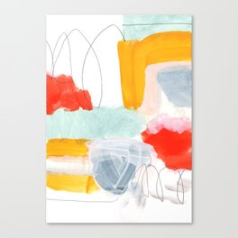 abstract painting XVI Canvas Print