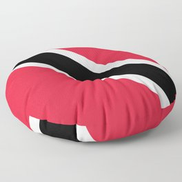 Trinidad & Tobago Flag Floor Pillow