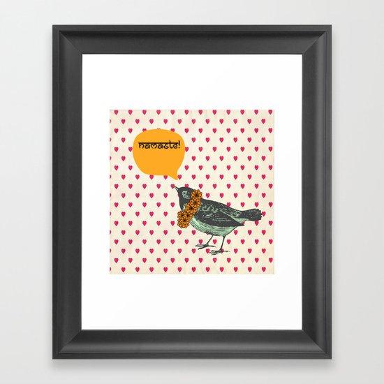 Namaste! Framed Art Print