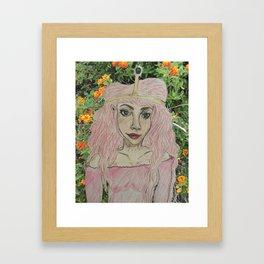 Princess Bubblegum XXI Framed Art Print