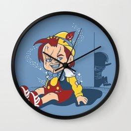I wanna be a real boy Wall Clock