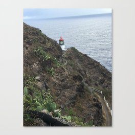 Makapuu Light House Waimanalo, Hawaii Canvas Print