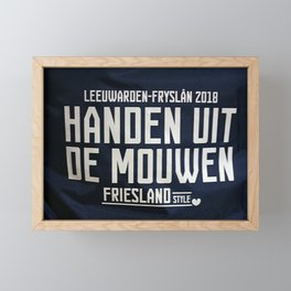 get it done! Framed Mini Art Print