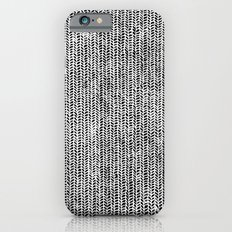 Stockinette Black iPhone 6 Slim Case