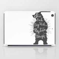 Positive Bear iPad Case