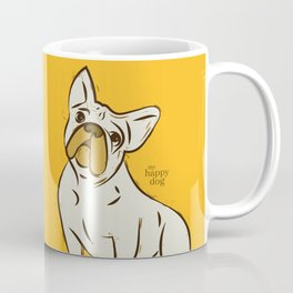 FRENCHY- yellow Coffee Mug