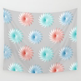 Pinwheels One Wall Tapestry