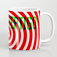 vertigo Mugs featuring VERTIGO by Brian Walker