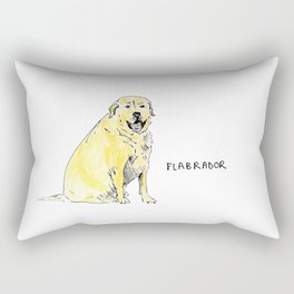 Flabrador Rectangular Pillow