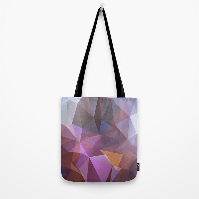 Abstract illustration of triangles polygon Tote Bag