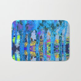 Peeking Through The Pursuit of Happiness a Mesmerizing Experience by annmariescreations Bath Mat