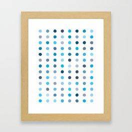 Dalmatian - Sky #924 Framed Art Print