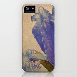 Antique Iris iPhone Case