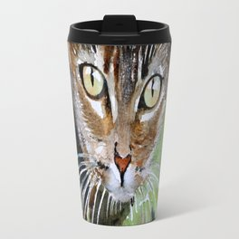 The Curious Tabby Cat Travel Mug