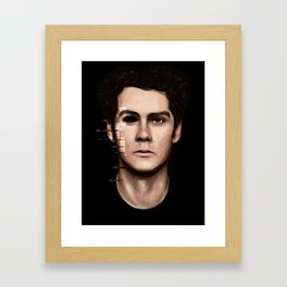 Stiles Stilinski Framed Art Print