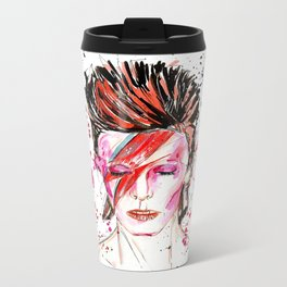 BOWIE Metal Travel Mug