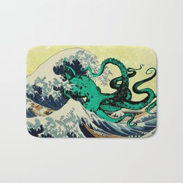 Great Octo-Wave Bath Mat