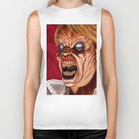 ed sheeran Biker Tanks featuring Evil Ed by Norm Gaudette
