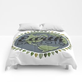 Earth Day 2019 - Textured paper Comforters