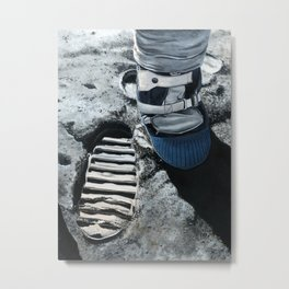 Moonboot Metal Print