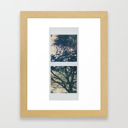up below Framed Art Print