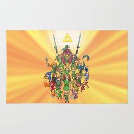 The Legend of Zelda 30th anniversary Rug