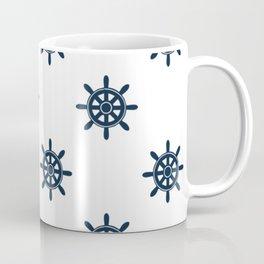 Navy Tiller Coffee Mug
