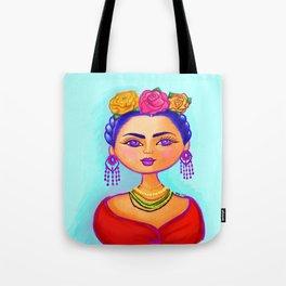Flirty Frida Tote Bag