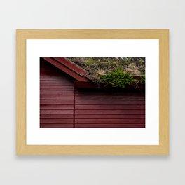 The Scandinavian House Framed Art Print