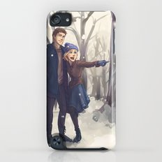 Snowy Day iPod touch Slim Case