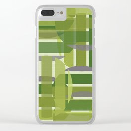 Green with Envy Clear iPhone Case