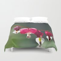 bath Duvet Covers featuring Lady in a bath by UtArt